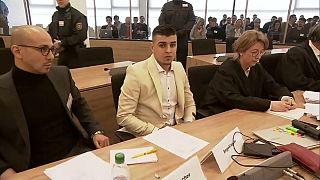 Angeklagt wegen Totschlags: der 23 Jahre alte syrische Asylbewerber Alaa S.