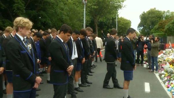 گرامیداشت یاد قربانیان کشتار مسجد نور در نیوزیلند