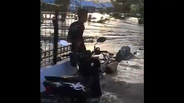 Indonéz árvíz: 58 halálos áldozat