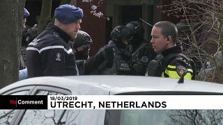 Утрехт: полиция разыскивает подозреваемого