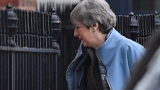 May to hold crisis talks after parliament speaker derails Brexit plan