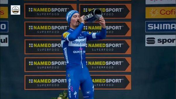 Ciclismo, Tirreno- Adriatico: sesta tappa per Alaphilippe