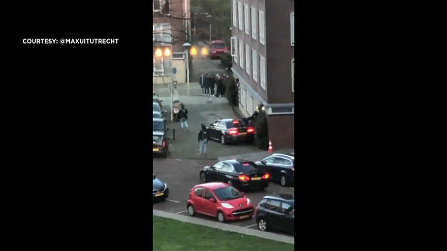 صورة من فيديو عملية اعتقال المشتبه به