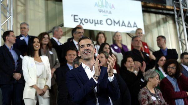 Ο Κ.Μπακογιάννης παρουσιάζει τους υποψήφιους του συνδυασμού «Αθήνα Ψηλά»