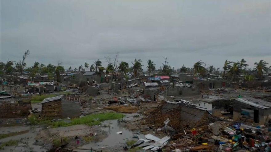 """""""Desastre humanitário"""" em Moçambique"""