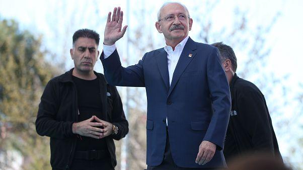 Kemal Kılıçdaroğlu seçim mitinginde