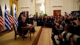 Τραμπ: Οι ΗΠΑ έχουν διαμορφωθεί από τον ελληνικό πολιτισμό