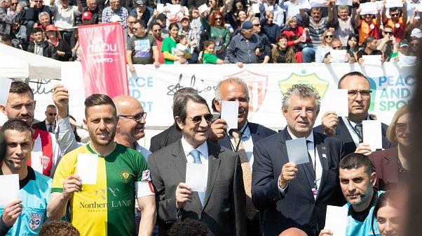 «Ειρήνη στην Κύπρο»: Φιλικός αγώνας Νέας Σαλαμίνας – MTG FC στην Πύλα