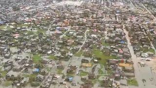 Inundaciones en la ciudad de Beira, Mozambique
