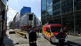 Brüksel'de AB kurumlarının bulunduğu Schuman Meydanı'nda bomba paniği