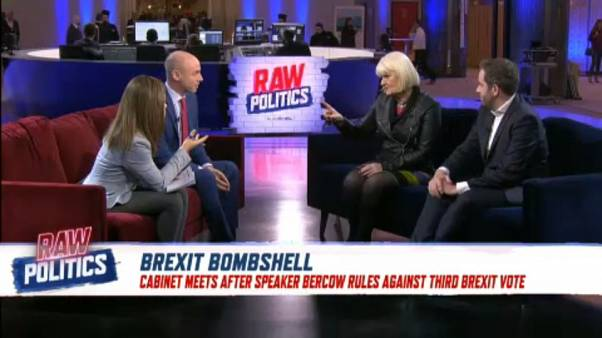 Third vote on Brexit barred until there is a 'demonstrable change' | Raw Politics