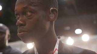 VIDEO: Senegalese athlete hears for the first time at Abu Dhabi's Special Olympics