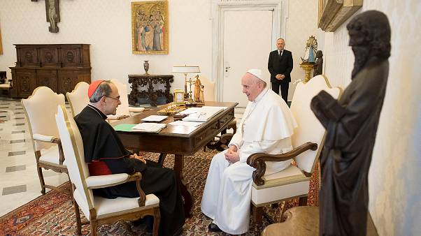 Photo prétexte cardinal Barbarin : procès 7/01/2019 à Lyon.