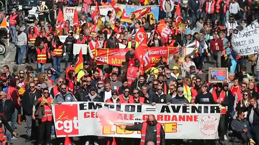 Manifestation du 19/03 à Marseille