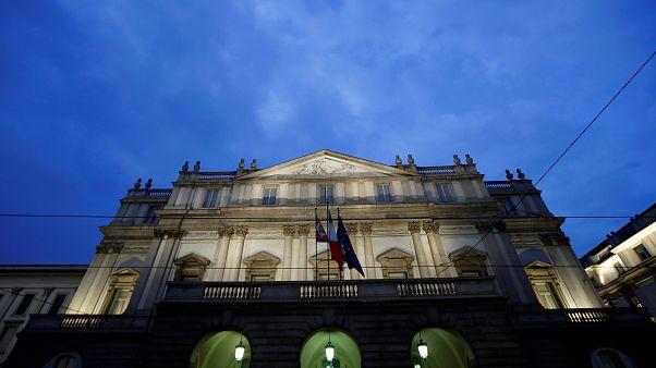 Die Scala in Mailand vor der großen Saisoneröffnung.