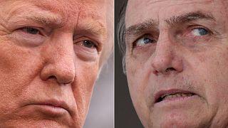 Watch again: Trump and Brazil's Bolsonaro speak after White House meeting