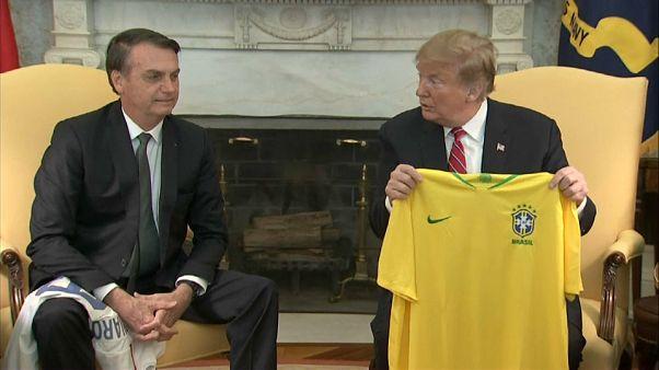 ABD Başkanı Trump: Brezilya'nın NATO'ya üye olmasına tam destek vereceğiz