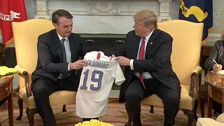 Trump a NATO-ban szeretné látni Brazíliát