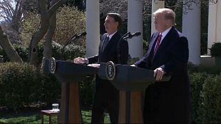Trump incontra Bolsonaro