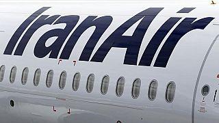 فرود اضطراری هواپیمای ایرانایر در فرودگاه مهرآباد بدون چرخهای عقب