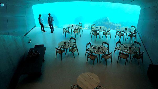 Fotoğraf Galerisi: Avrupa'nın ilk su altı restoranı 'Under' kapılarını açıyor