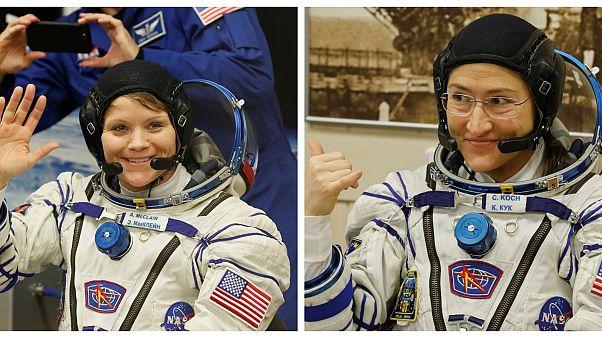 NASA confirma la primera caminata espacial de solo mujeres de la historia