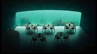 Take a look inside this newly opened underwater restaurant