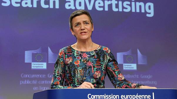 EU hits Google with €1.49bn fine for 'blocking rival search engines'