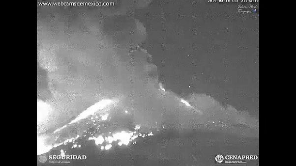 [Vídeo] El violento despertar del volcán Popocatepetl