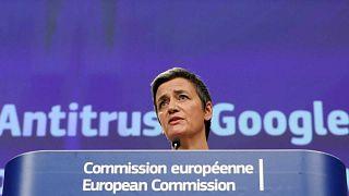 L'UE inflige une nouvelle amende à Google