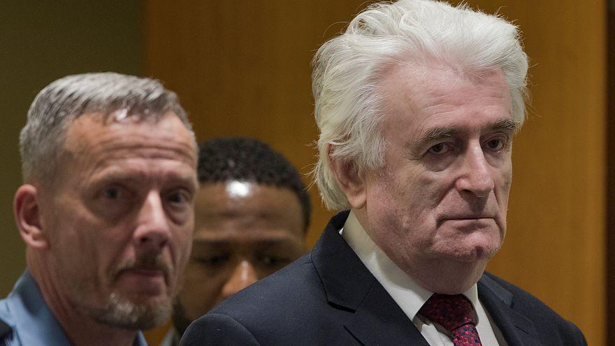رادوان کارادزیچ، ملقب به «قصاب بوسنی» به حبس ابد محکوم شد