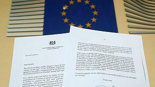 بریتانیا از اتحادیه اروپا خواست اجرای برکسیت را سه ماه عقب بیندازد