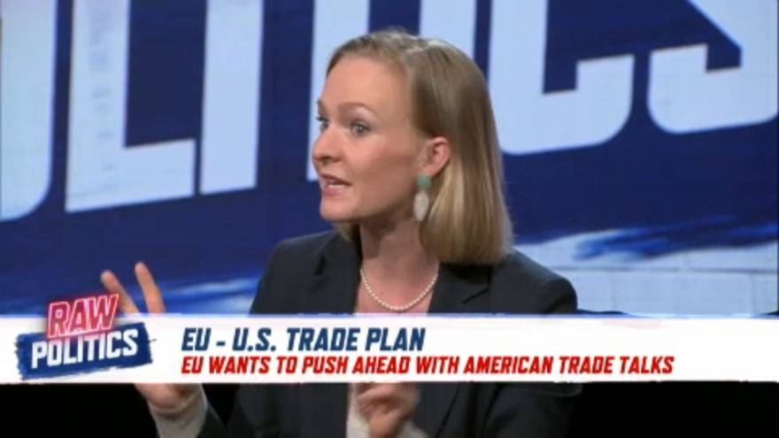 EU and US proceed with transatlantic trade negotiations | Raw Politics