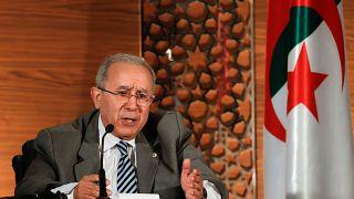 رمطان لعمامرة  نائب رئيس الوزراء الجزائري