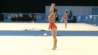 من المشاركات في الأولمبياد الخاصة بأبو ظبي