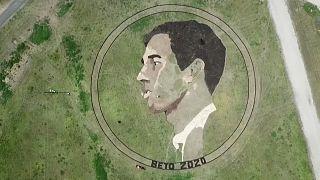 Beto ORourke Crop Circle