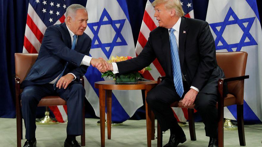 ترامب: حان الوقت للاعتراف الكامل بسيادة إسرائيل على هضبة الجولان