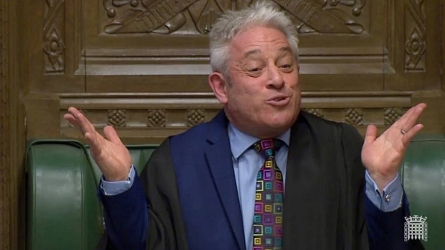 رئيس البرلمان البريطاني جون بيركو