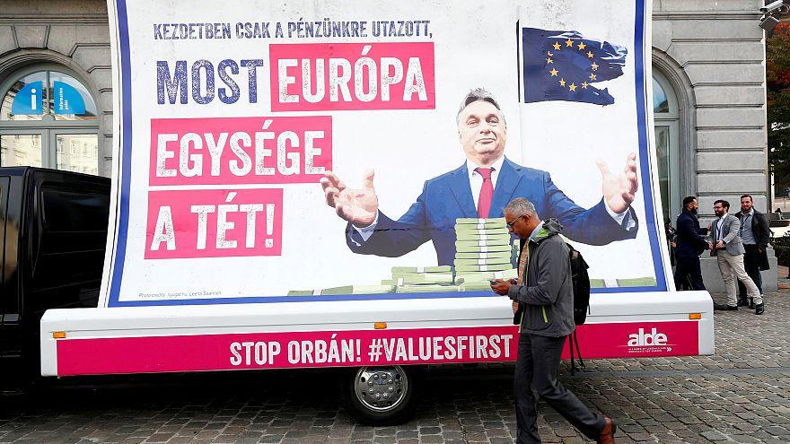 Orbans Fidesz vorläufig aus der EVP ausgeschlossen