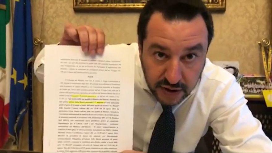 Matteo Salvini evita ser juzgado por el secuestro del 'Diciotti'