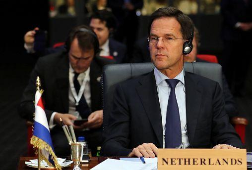Dutch Prime Minister Mark Rutte on February 24, 2019.