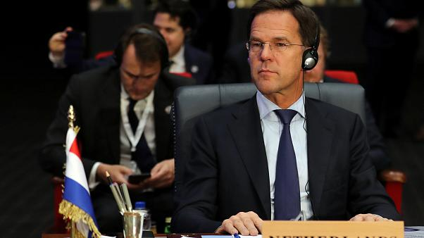 Dutch Prime Minister Mark Rutte on February 24, 2019.