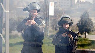 جنود للجيش الإسرائيلي بالضفة الغربية