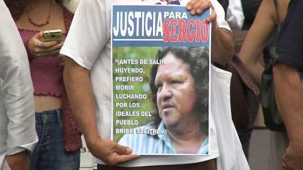 Indignación en Costa Rica por el asesinato de un activista indígena