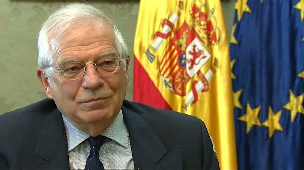 Borrell: resultaría extraño que los británicos votaran en las europeas
