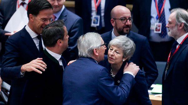 ترزا می در اجلاس اتحادیه اروپا