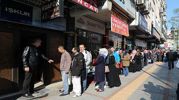 Kayıtlı işsiz sayısı 4 milyona dayandı: Son 6 ayda artış yüzde 44