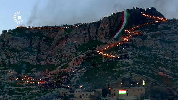 ویدئو؛ جشن نوروز در کردستان عراق