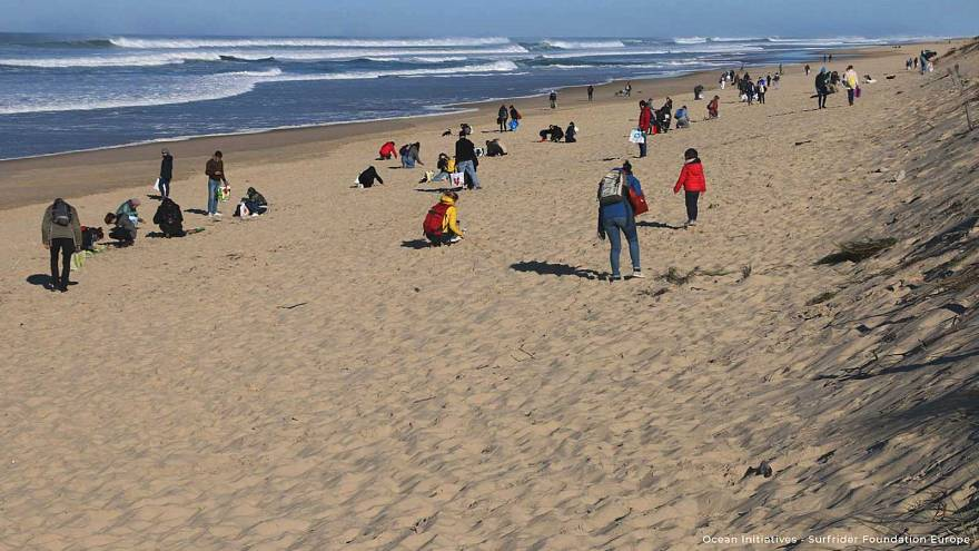 Initiatives Océanes : grand nettoyage de printemps des plages européennes