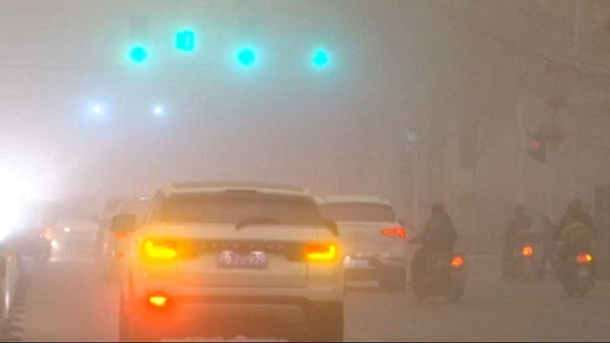 Homokvihar Kínában